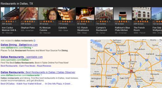 google carousel dallas restaurant